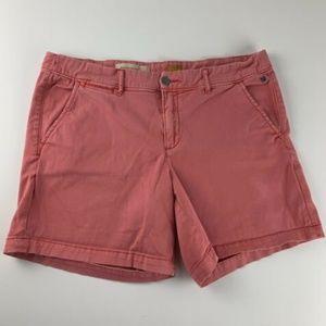 Pilcro Letterpress Pink Shorts Hyphen Golf Boat